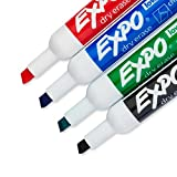 EXPO 1785294 Low-Odor Dry Erase Set, Chisel
