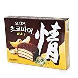 Orion Choco Pie Banana 666g Pack of 18 pieces of individually packed pies per box