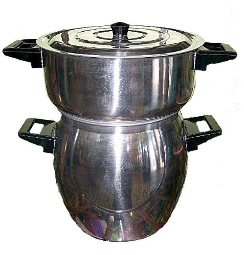 Couscousier 6 Liter Moroccan Steamer Pot Imported from Morocco Couscous Cooker Pot