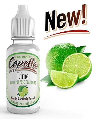 - Capella Flavor Drops Lime Concentrate 13ml