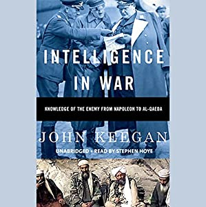 Intelligence in War Hörbuch