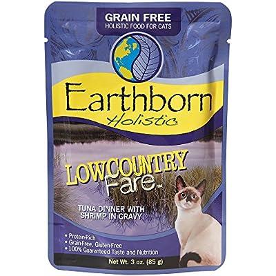 Earthborn Holistic Lowcountry Fare Grain Free Moist Cat Food, 3 Oz, Case Of 24