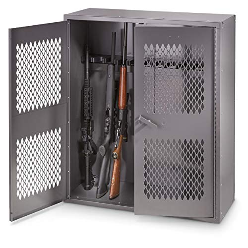 "HQ ISSUE Metal Gun Locker, 36"" w x 42"" h"