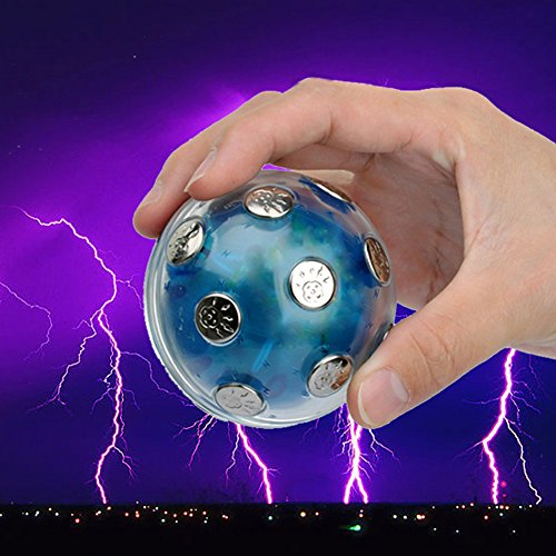 CHoppyWAVE Squeeze Toys Stress Reliever, Electric Shock Shocking Glowing Ball Game Hot Party KTV Entertainment Toy