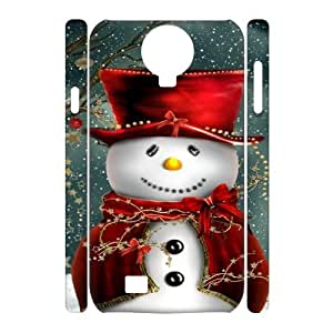 SamSung Galaxy S4 I9500 Christmas 3D Art Print Design Phone Back Case Personalized Hard Shell Protection LK017338