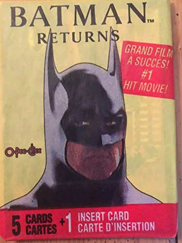 1992 Batman Trading Cards Pack of Unopened Non Sport Trading Cards
