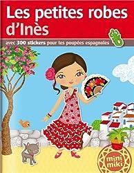 Stickers Minimiki : Les petites robes d'Inès