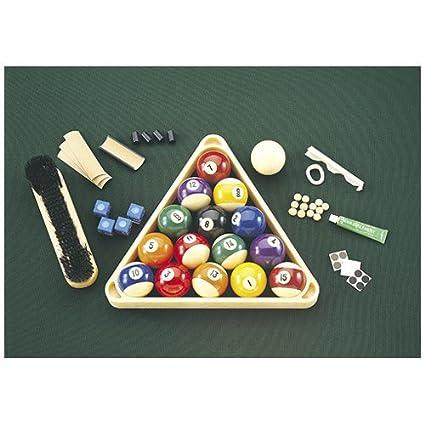 Amazoncom Minnesota Fats Billiard Starter Kit Pool Tables - Minnesota fats pool table for sale