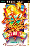 All the Best Songs for Youth, , 083419581X