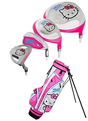 Hello Kitty Sports Girls Go! Junior Golf Set (9-12 years) by Hello Kitty Sports