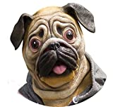 toy for english bulldog - Miyaya@ Special New Latex Full Head Overhead Animal Cute Bulldog Mask for Mask Festival、halloween、easter or Dance Party