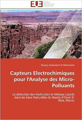 Capteurs Electrochimiques pour l'Analyse des Micro-Polluants: La détection des herbicides et Métaux Lourds dans les Eaux Naturelles du Bassin d'Oum Er Rbia, Maroc (Omn.Univ.Europ.)