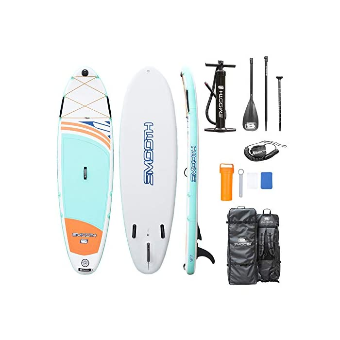 Smooth Inflatable Stand Up Paddle board