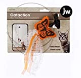 JW Pet Company Canvas Butterfly with Door Knob Teaser Catnip Toy, My Pet Supplies