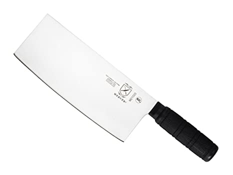 Mercer Culinary Asian Collection Chinese Chefu0027s Knife With Santoprene Handle