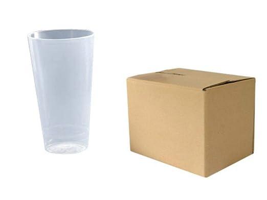 Lote de 525 Vasos Desechables de Plástico Transparentes ...