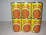 Trader Joe's Organic Joe's O's Pasta, (6)- 15 Oz Cans Bundle