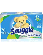 Snuggle Plus Super Fresh Fabric Softener Dryer Sheets with Odor Fighting Ingredients
