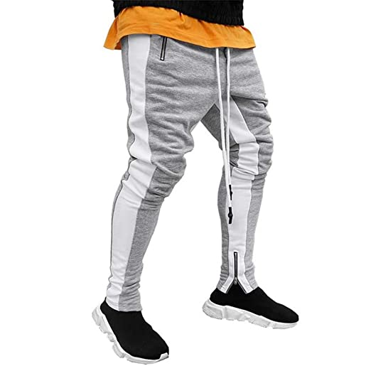 WYX Mens Joggers Pantalones Casuales Aptitud De Los Hombres ...