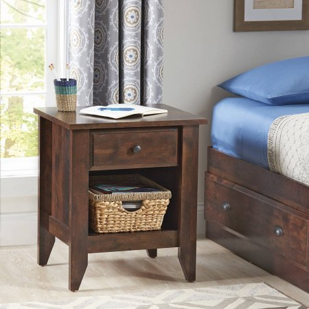 Better Homes and Gardens Leighton Night Stand, Rustic Cherry Finish from Better Homes & Gardens