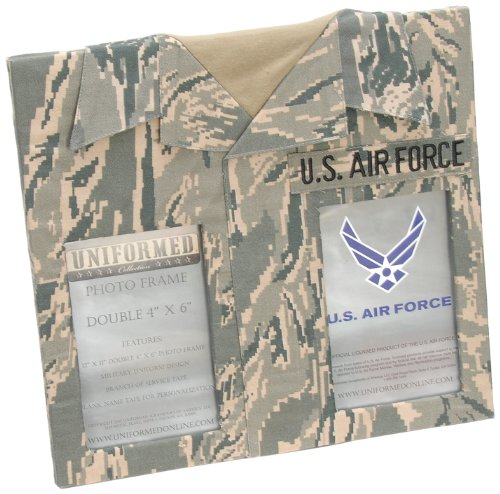 Uniformed ACUfrm12 U.S. Air Force ABU Double Frame, 4 by 6-I