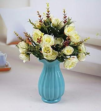 Kunstliche Fake Blumen Dekoration Esstisch Wohnaccessoires Im