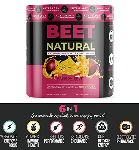 Beet Natural - All Natural Pre-Workout Drink Featuring Beet Root Powder. (Best Natural Pre Workout Drink)