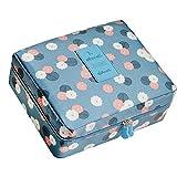 Kaimao Portable Waterproof Make Up Cosmetic Bag Travel Wash Bag Toiletry Organizer Storage