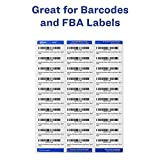 Avery Mailing Address Labels, Laser Printers, 3,450 Labels, 1 x 2-5/8, Permanent Adhesive, FBA Labels