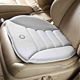 Smart Direct Coccyx Care Memory Foam Seat Cushion for Car Office Home Use (Gray)
