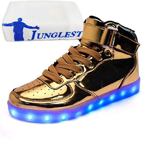 JUNGLEST Présents Sneak Serviette Petite Rechargeable USB Couleurs Lumineuse LED Chaussures 7 Baskets q1aqnwCr