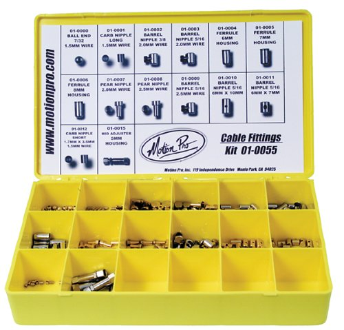 Motion Pro Cable Fittings Kit W/Box 185 Pieces