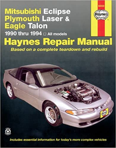 Mitsubishi eclipse laser talon 9094 haynes repair manuals mitsubishi eclipse laser talon 9094 haynes repair manuals 1st edition fandeluxe Image collections