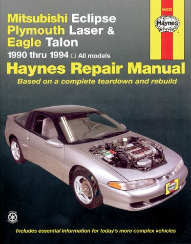 Mitsubishi Eclipse,  Laser, Talon  '90'94 (Haynes Manuals)