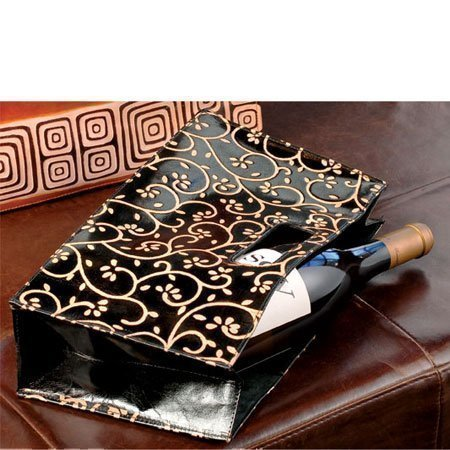 Black Vines BYO Leather Wine Clutch | #2858