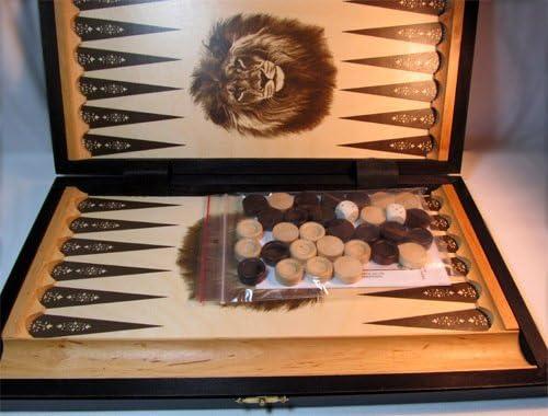 Chessebook - Backgammon 42 x 37 cm: Amazon.es: Juguetes y juegos