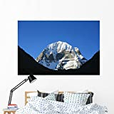 Kailash Mountain Wall Mural by Wallmonkeys Peel and Stick Graphic (60 in W x 40 in H) WM237747