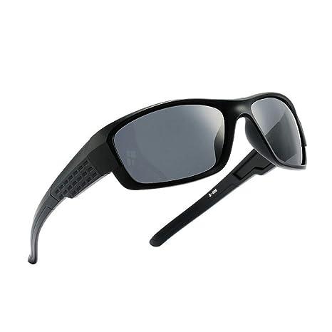 DING-GLASSES Gafas Gafas de Sol polarizadas de plástico de ...