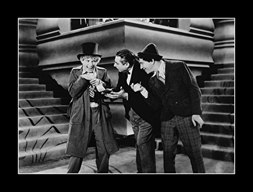 8 x 10 All Wood Framed Photo Marx Brothers (Animal Crackers)_03 by Celebrity Framed Art
