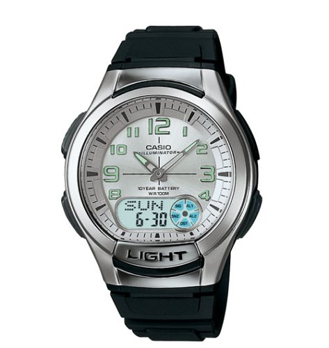 Casio AQ180W 7BV Ana Digi Light Watch