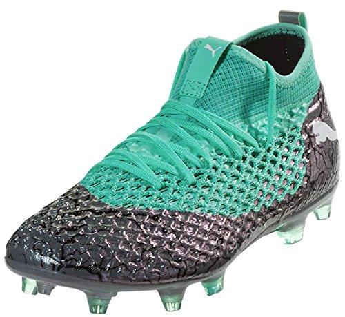 PUMA Men s Future 2.2 Netfit FG AG Soccer Cleats (Sz. 8) Silver a0ca1424d