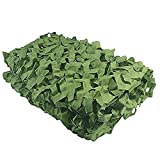Army Safari Camouflage Netting,MELIIO 6.5ft x 13ft (2m x 4m) Woodland Camo Net Camping Military Hunting Shooting Sunscreen Nets Hide Woodlands jungle for Shooting Blind Watching Decor Sunshade etc
