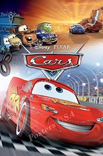 Amazon.com: Posters USA Disney Classics Cars Poster - DISN032 (24 ...