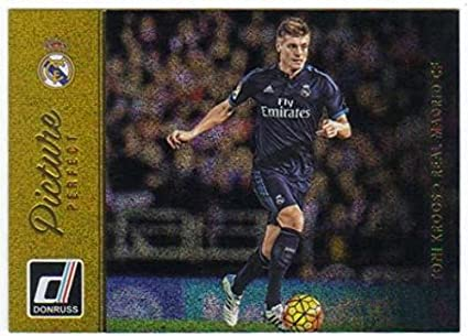 Madrid CF Champions League 17//18 Sticker 13 Toni Kroos Real