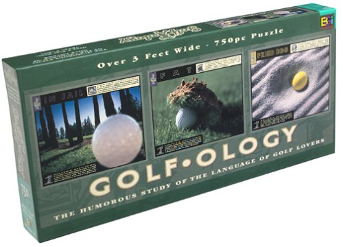 Golfology the Humorous Study of the Language of Golf Lovers Puzzle by Buffalo Games