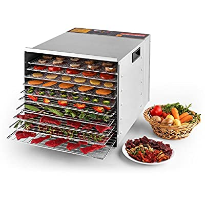 Della Deluxe Electric Food Dehydrator, Fruit Meat Sausage