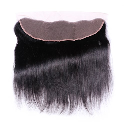 Sterly Brazilian Straight Hair 3 Bundles With Frontal Closure 13x4 Ear To Ear Lace Frontal With Bundles Unprocessed Virgin Human Hair Extensions Natural Color (18 20 22 +16) by Sterly (Image #1)