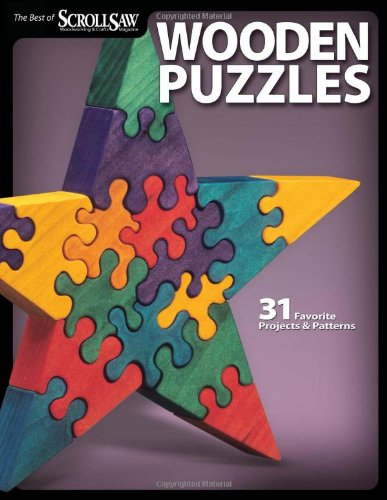 Wooden Puzzles Favorite Projects Woodworking product image