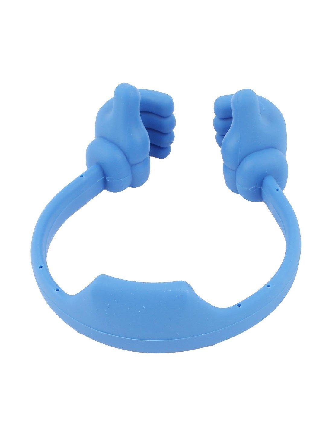 Amazon.com: Azul sostenedor del soporte del soporte del pulgar Linda montaje Para la tableta del teléfono celular: Electronics