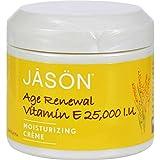 Jason Moisturizing Creme Vitamin E Age Renewal -- 25000 IU - 4 oz